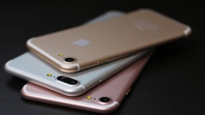 iPhone 7 (Gold და Rose Gold) და iPhone 7 Plus (Silver)